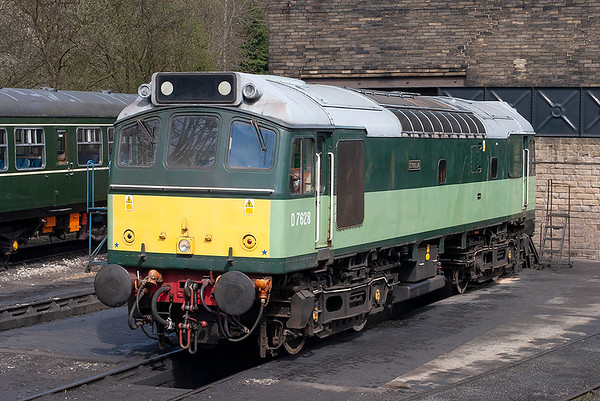 D7628 (25278), Haworth 27/4/2013