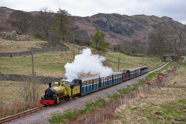10 'Northern Rock', Eskdale Green 14/4/2008 1130 Dalegarth-Ravenglass