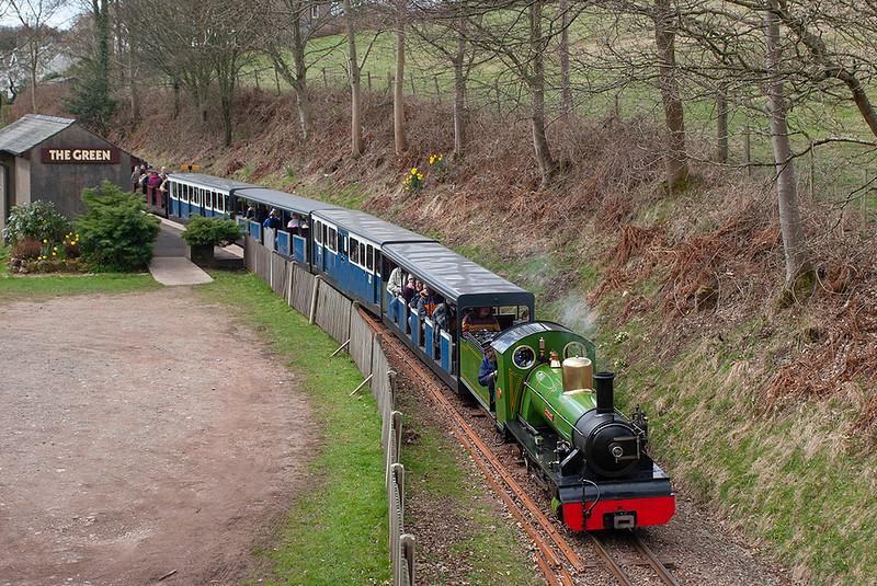 'River Irt', The Green 18/4/2006<br /> 1210 Ravenglass-Dalegarth