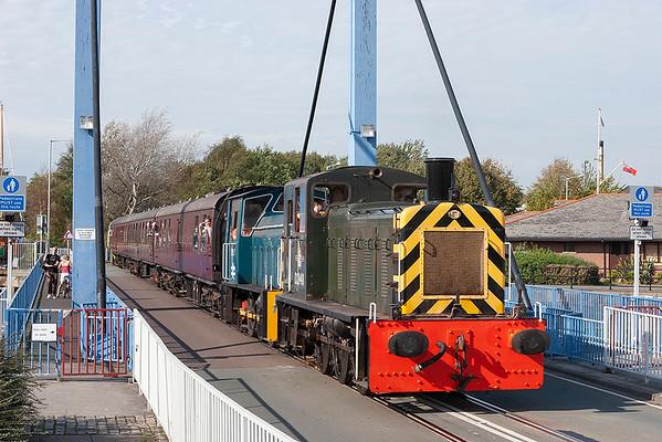 D2148 and D2595, Preston Docks 1/10/2011