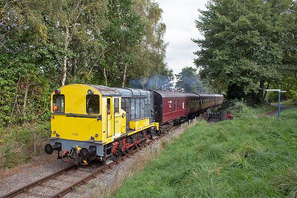 Nederlandse Spoorwegen 663, Preston Docks 6/10/2013