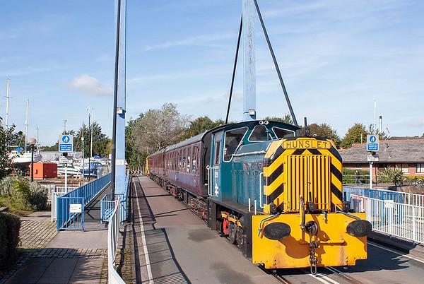 D2595 Preston Docks 7/10/2012