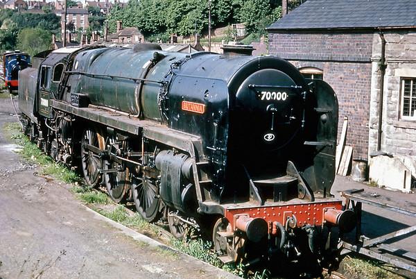 70000 'Britannia', Bridgnorth