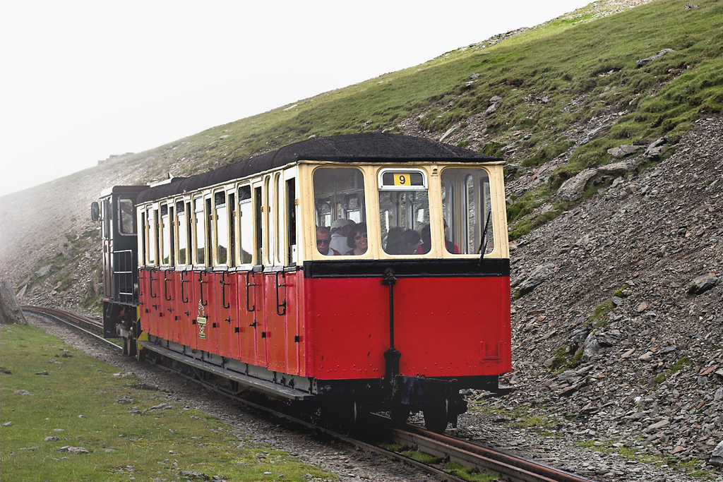 9 'Ninian', Snowdon Summit 8/8/2012<br /> 1500 Llanberis-Snowdon Summit