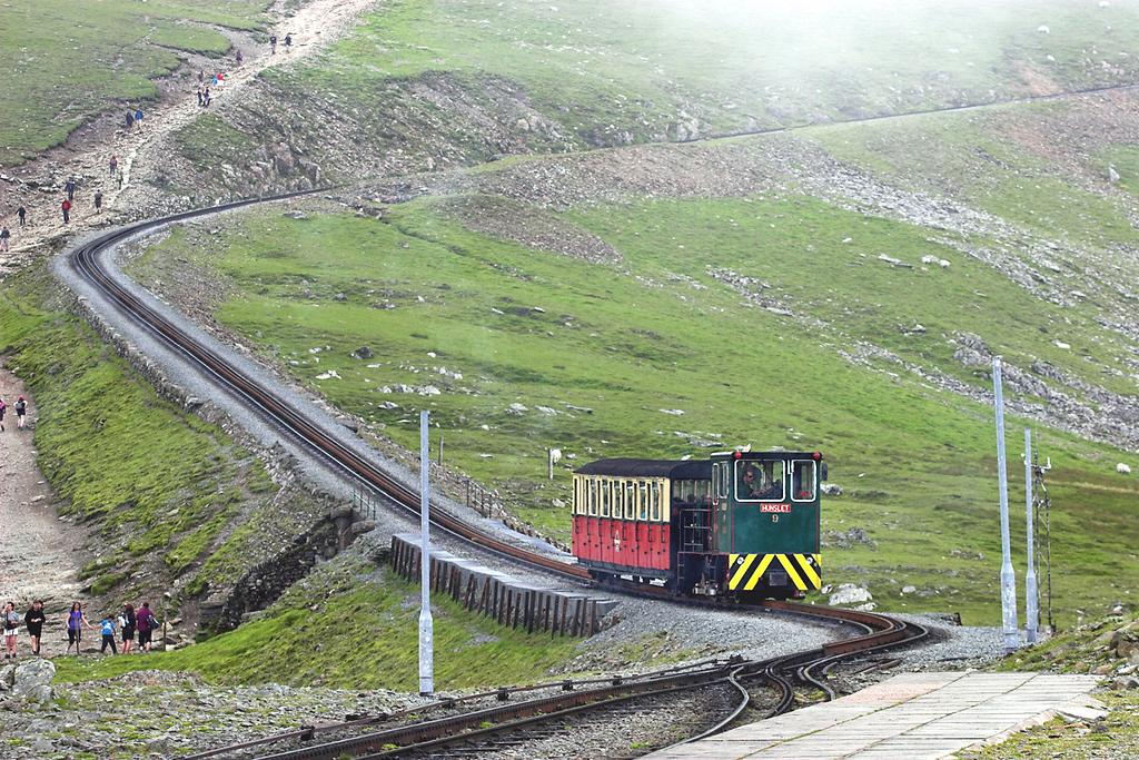 9 'Ninian', Clogwyn 8/8/2012<br /> 1355 Snowdon Summit-Llanberis