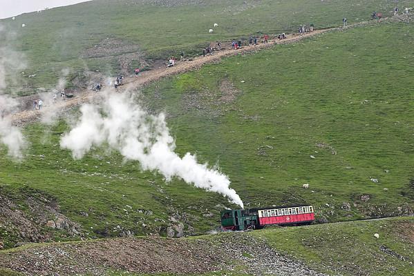 3 'Wyddfa', Clogwyn 8/8/2012 1300 Llanberis-Snowdon Summit