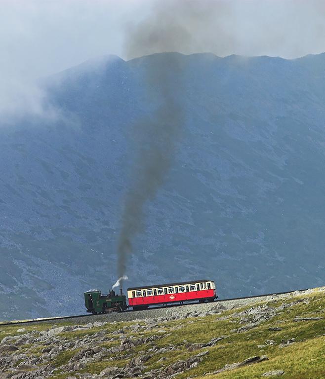 3 'Wyddfa', Halfway 8/8/2012<br /> 1600 Llanberis-Snowdon Summit
