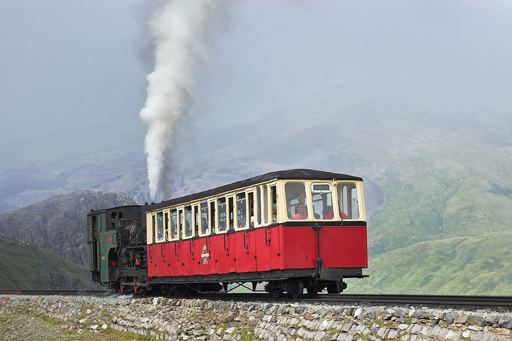 6 'Padarn', Clogwyn 8/8/2012<br /> 1530 Llanberis-Snowdon Summit