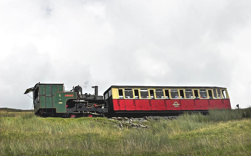 6 'Padarn', Halfway 8/8/2012<br /> 1225 Snowdon Summit-Llanberis
