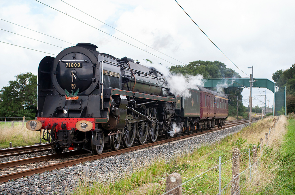 71000 'Duke of Gloucester', Brock 4/9/2006<br /> 5Z71 1042 Carnforth-Heywood