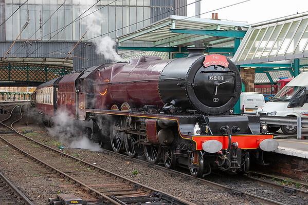 6201 'Princess Elizabeth', Carlisle 16/11/2006 1Z71 0706 Birmingham International-Glasgow Central