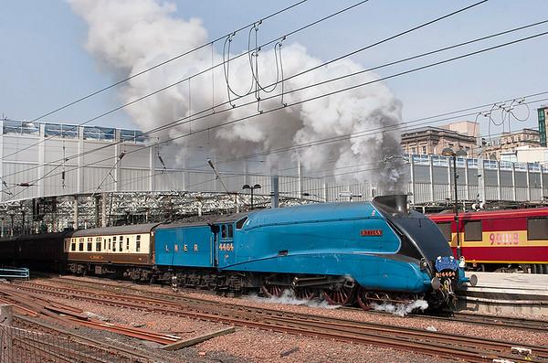 4464 'Bittern', Edinburgh Waverley 24/5/2012 1Z43 1033 Edinburgh-Carlisle