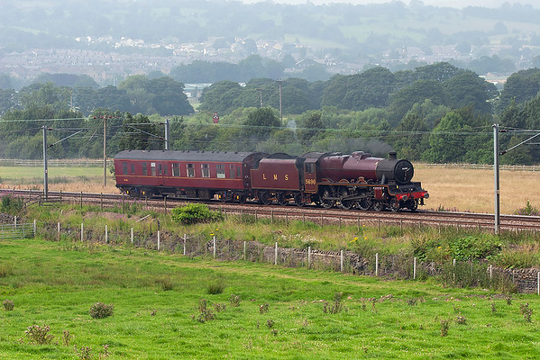 5690 'Leander', Steeton 28/7/2008 5Z90 1059 Carnforth-York NRM