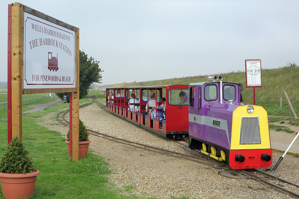 'The Duke', Wells Harbour Railway 18/9/2014