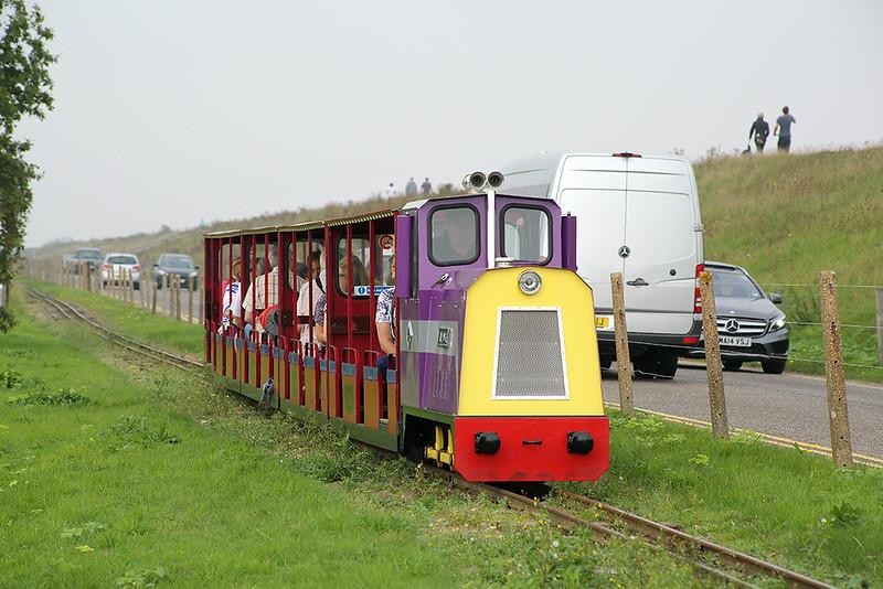 'The Duke', Wells Harbour Railway 18/9/2014