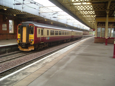 156434 at P4 on a service for Stranraer