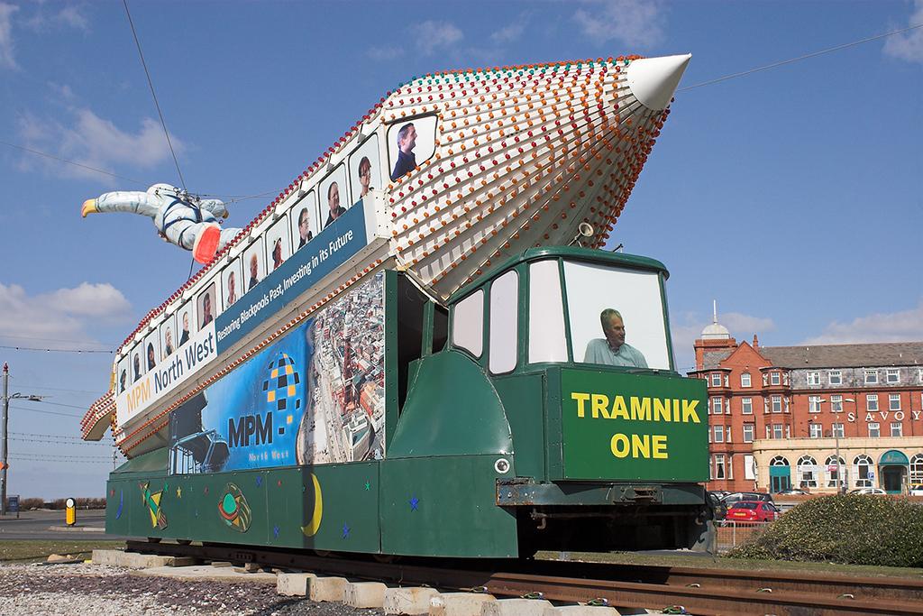 732 'Tramnik One', Gynn Square 29/3/2013
