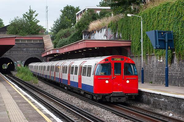 Bakerloo Line 3231, Kensal Green 22/6/2006