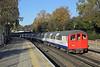 Central Line 1407, Grange Hill 17/11/2017