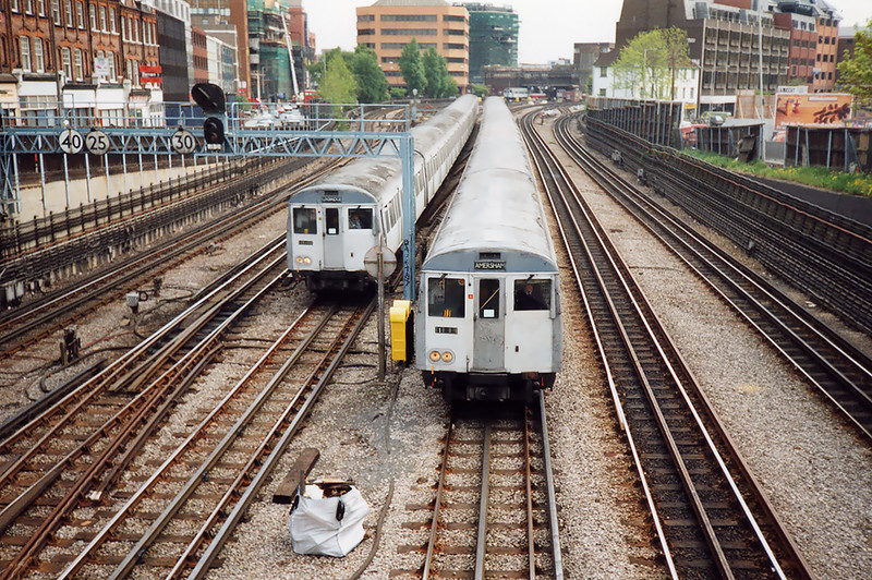 Metropolitan Line, Harrow on the Hill 15/5/1991