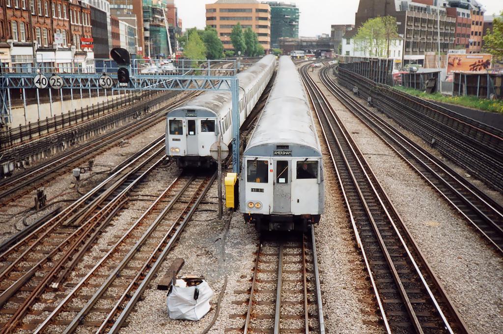 Metropolitan Line, Harrow on the Hill 15/5/1991
