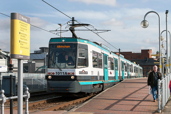 1011 and 1012, Deansgate-Castlefield 24/2/2011