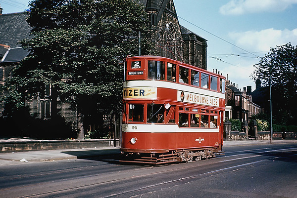 Leeds 190, Woodhouse Lane 7/8/1955