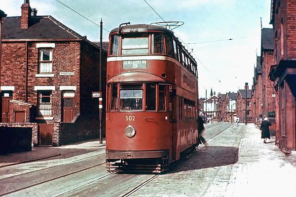 Leeds 502, Nippet Lane 1/8/1953