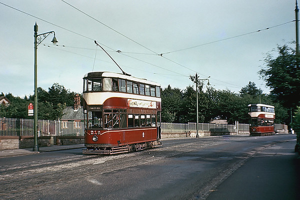 Edinburgh 218, Stanley Road, July 1956