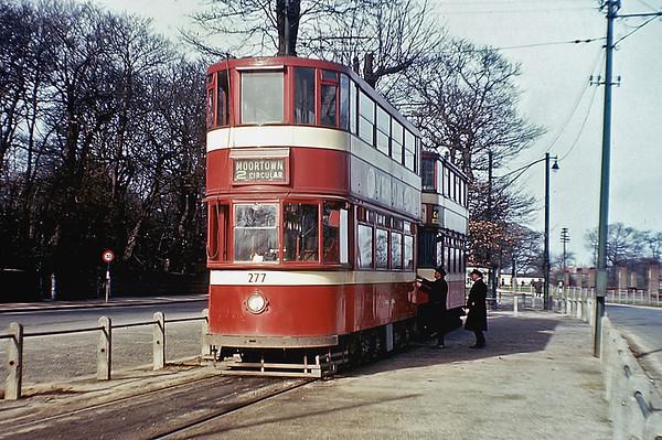Leeds 277, Lawnswood 24/7/1955