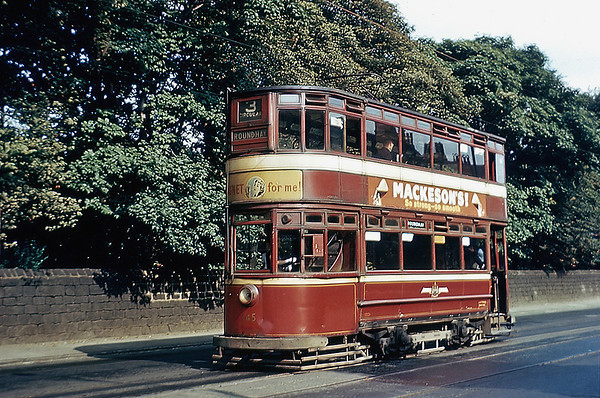 Leeds 145, Otley Road 7/8/1955