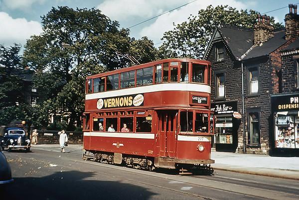Leeds 277, Chapletown Road 17/8/1956