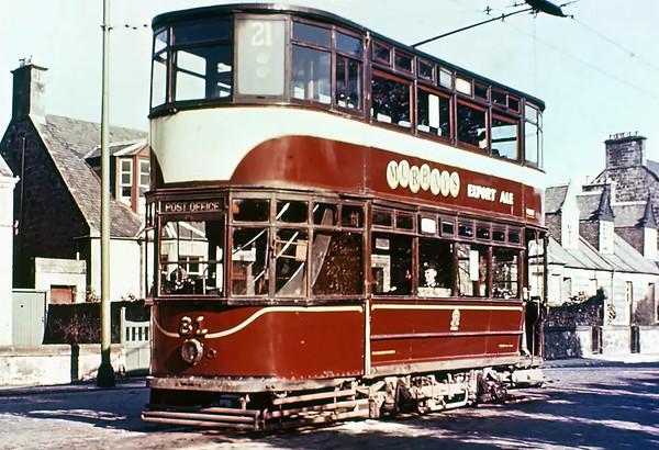 Edinburgh 81, Levenhall 6/10/1954