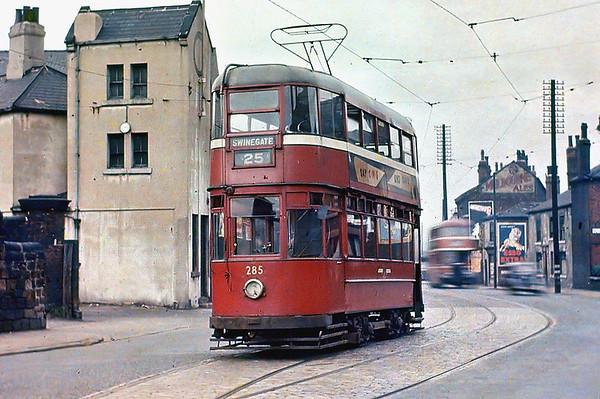 Leeds 285, Hunslet 21/8/1953