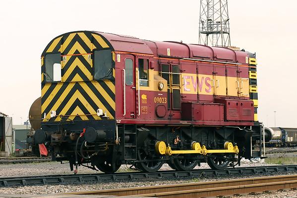 09023 Immingham Reception Sidings 12/4/2005