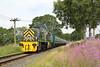 D9555 and D9520, Walmersley 26/7/2014<br /> 1J66 1121 Rawtenstall-Heywood