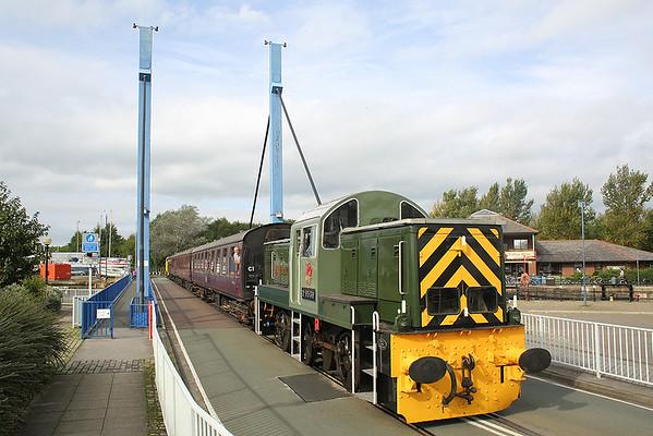 D9539 Preston Docks 6/10/2013