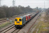 20142 and 20189, North Stafford Junction 14/3/2014 6K50 1513 Toton Yard-Basford Hall