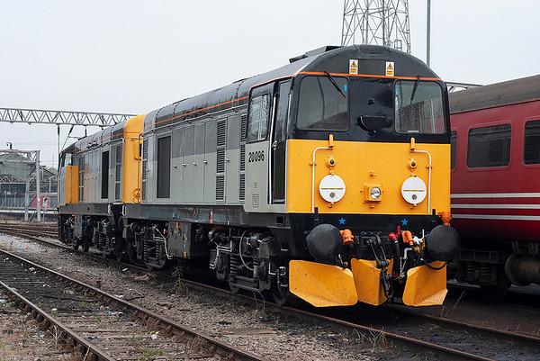 20096 and 20905, Crewe 11/10/2005