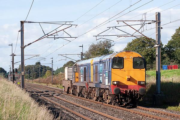 20302 and 20303, Woodacre 3/9/2007 6K73 1535 Sellafield-Crewe CLS