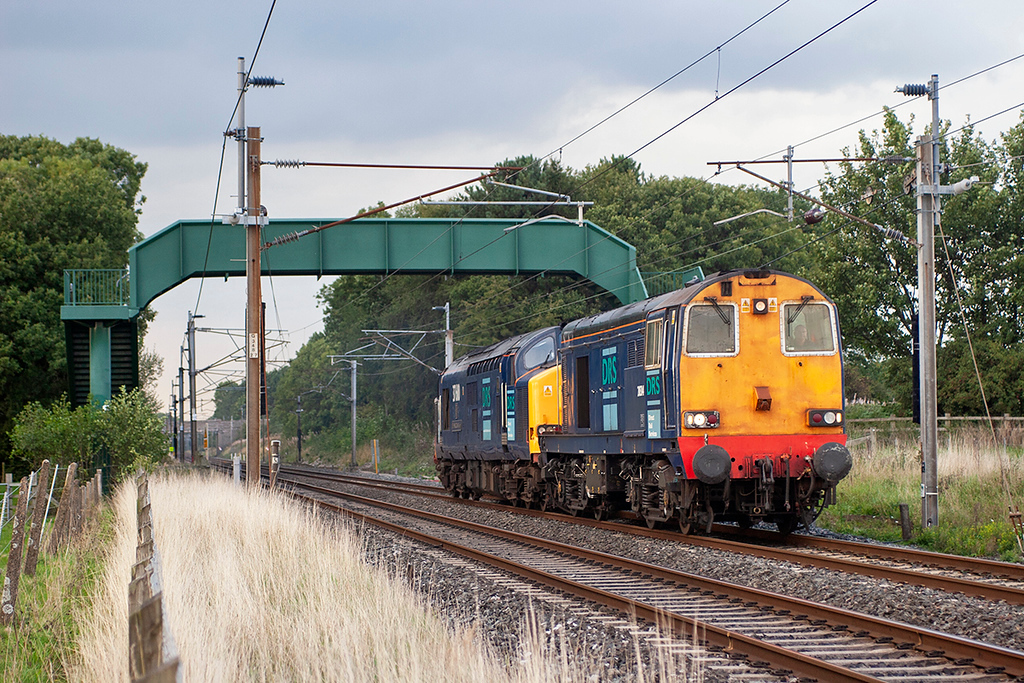 20314 and 37610 Brock 12/9/2006<br /> 0K73 1535 Sellafield-Crewe CLS