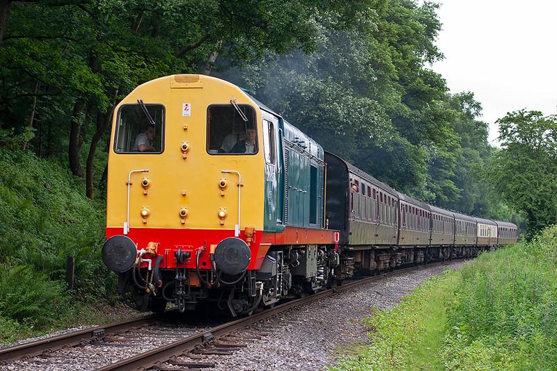 20087 Irwell Vale 2/7/2010<br /> 2J64 1006 Rawtenstall-Heywood