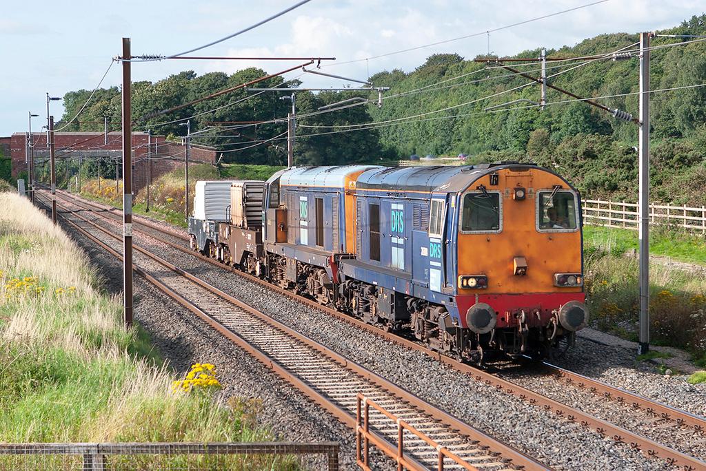 20308 and 20305 Woodacre 8/8/2007<br /> 6K73 1535 Sellafield-Crewe CLS