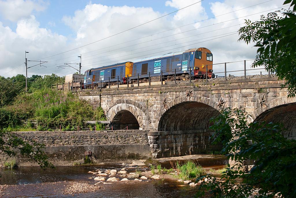 20303 and 20310, Scorton 6/8/2007<br /> 6K73 1535 Sellafield-Crewe CLS