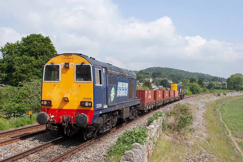 20309 and 20305 Kents Bank 6/6/2013<br /> 6Z50 0812 Crewe CLS-Drigg