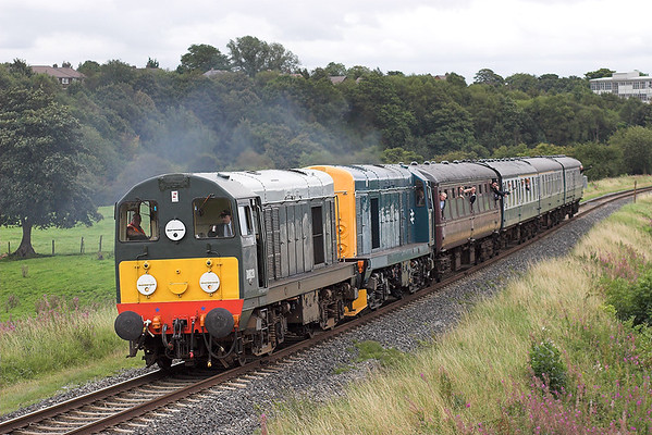 D8020 (20020) and 20087 Burrs 1/9/2007 1F85 1604 Bury Bolton Street-Ramsbottom