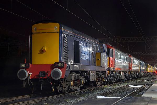 20301, 86702, 86701, 86101, 86901, 86902 and 86253, Crewe 12/10/2009