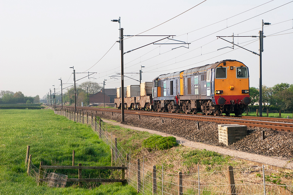 20312 and 20310 Brock 12/5/2006<br /> 6C53 0630 Crewe CLS-Sellafield