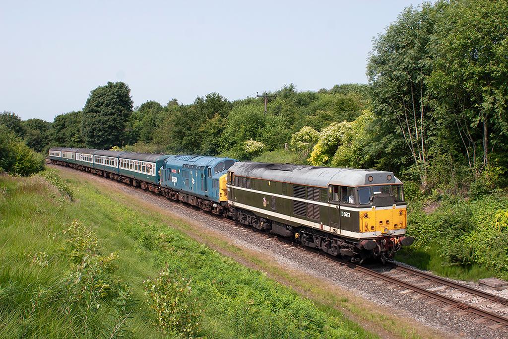D5613 (31190) and 37324 Little Burrs 5/7/2013<br /> 2E80 1504 Ramsbottom-Bury Bolton Street