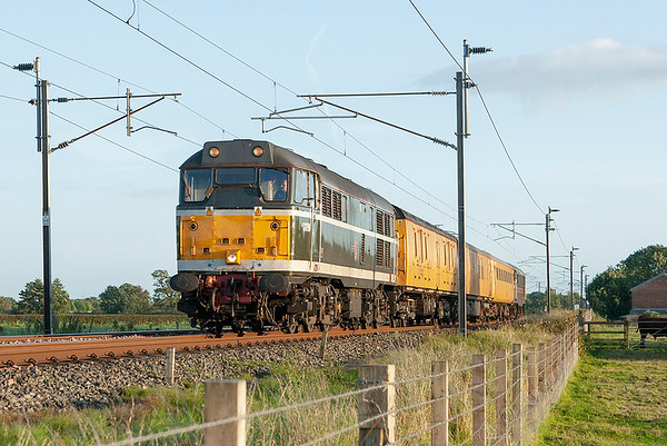 31190 and 31106, Brock 10/9/2007 4Z08 1435 Derby RTC-Polmadie TMD